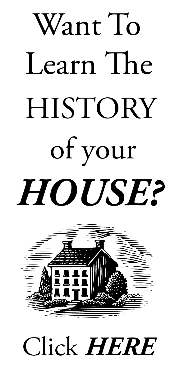 house history research and consulting, house histories